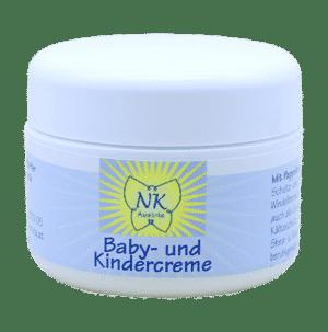 Baby- und Kindercreme mit Pappelknospen