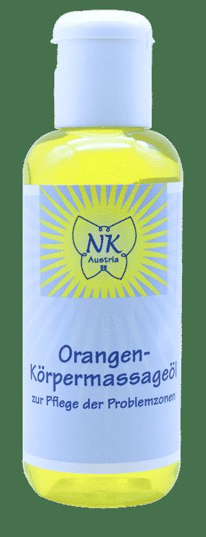 Orangen Körpermassageöl