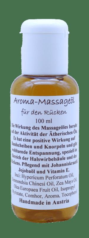 Rückenmassageöl