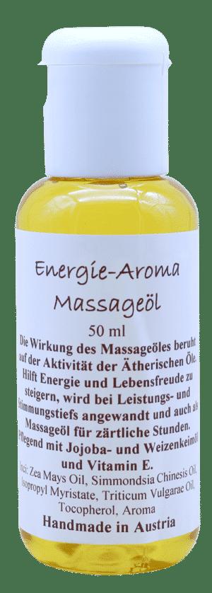 Energie-Aroma-Massageöl