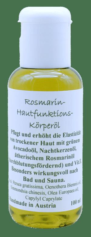 Rosmarin-Hautfunktionsöl