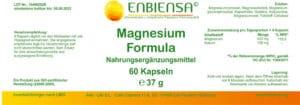 Magnesium Formula